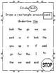 Pre-Primer Sight Word Practice