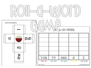 Pre-Primer Sight Word Practice Pages (over 80!) and Games - CCSS Aligned