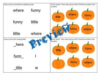 Pre-Primer Sight Word Readers: Plus Writing!