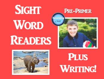 Pre-Primer Sight Word Readers: Plus Writing!