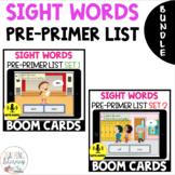 Pre-Primer Sight Word Recognition BOOM CARDS Bundle