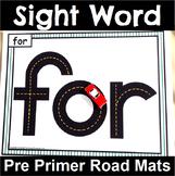 Pre Primer Sight Word Road Mats