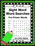 Pre-Primer Sight Word Word Searches