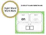 1st Grade Sight Word Work Mats