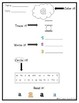 Dolce Pre-Primer Sight Word Worksheets