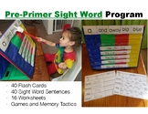 Pre-Primer Sight Word Year long Program Pack