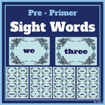 Pre-Primer Sight Words