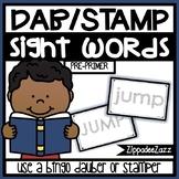 Pre-Primer Sight Words Dab Stamper Center
