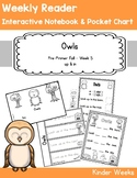 Pre-Primer - Week 5 - Owls - Weekly Reader, Interactive No