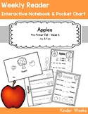 Pre-Primer - Week 6 - Apples - Reader, Notebook, Pocket Chart