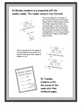 Pre-Primer - Week 1 - Chicka Chicka Boom Boom - Reader, Notebook, Pocket Chart
