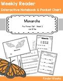 Pre-Primer - Week 2 - Monarchs - Weekly Reader, Notebook,