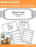 Pre-Primer - Week 3 - Mouse Count - Weekly Reader, Notebook, and Pocket Chart