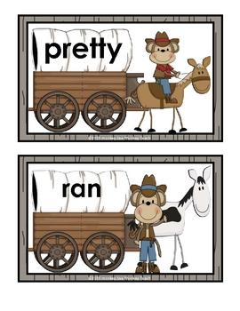 Pre Primer Words/Primer Words Word Wagon Monkey