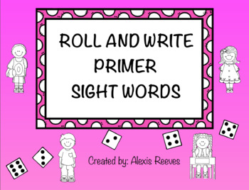 Pre-Primer and Primer Roll and Write Bundle
