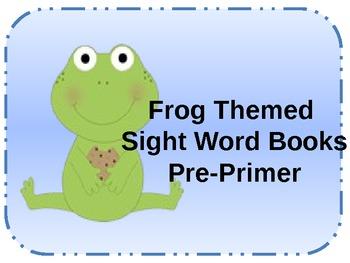 Pre-Primer and Primer Sight Word Books