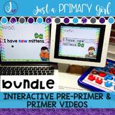Pre Primer and Primer Sight Words Interactive Video Bundle