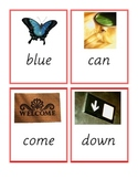 Pre-Primer sight word playing cards