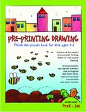FREE Pre-Printing Drawing Activity Sheets; Pre-K, TK, Kindergarten, 1st Grade