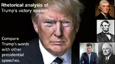 Pre-Reading Activity: Rhetorical Analysis of Donald Trump'