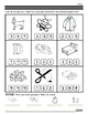 Pre-Reading Alef Bet and Vowels assessment packet