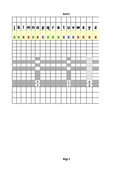 Pre-Reading Check Off Sheet - Excel Sheet for Computer Use