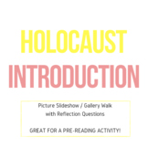 Pre-Reading Holocaust Picture Slideshow/Gallery Walk