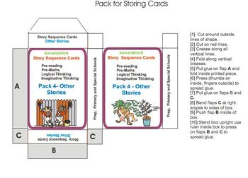 Original in addition Original also  on pre reading logic sequence cards pack 4 other stories 325962