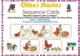Pre-Reading Logic Sequence Cards Pack 4- Other Stories