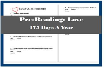 Pre-Reading: Love