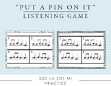 Put a Pin in It - La Practice Game