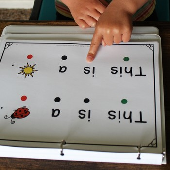 Pre-Reading Skills Practice No-Prep Binder