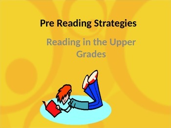 Pre Reading Strategies in Middle School