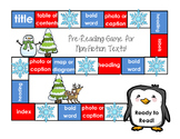 Pre-Reading Text Features Game for Non-Fiction {winter theme}