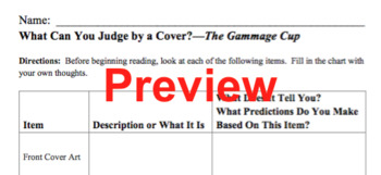 Pre-Reading Worksheets and Activities for The Gammage Cup