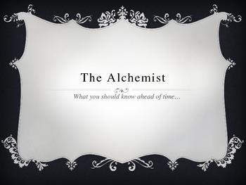 Pre-Reading the Alchemist Powerpoint