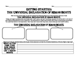 Pre-Reading/Accessing Background Knowledge Activity for UDHR