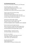 Pre Revolutionary War Song