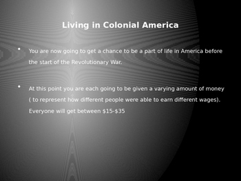Pre-Revolutionary War Tax Activity