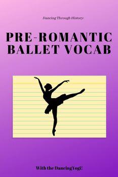 Pre-Romantic Period Vocab