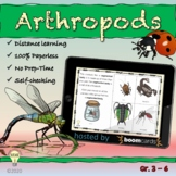 Distance Learning: The Key Characteristics of Arthropods B