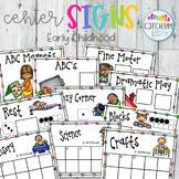 Pre-School Center Signs