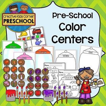 Pre-School Color Centers Pack