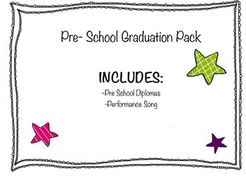 Pre-School Graduation Pack