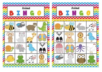 picture relating to Animal Bingo Printable known as Pre-Higher education Kindergarten Animal Bingo Match Printable