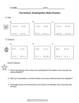 Pre-School Math