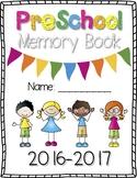 Pre-School Memory Book