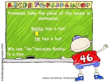 Pre-School Pronouns