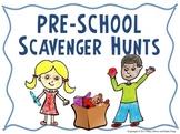 Pre-School Scavenger Hunt Activities