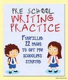 Pre School Writing Practice